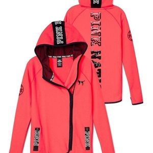 Pink zip hoodie